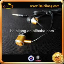 metal In-ear Earbud Headphone Earphone Headset for Apple iPhone iPod - champagne