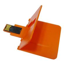 OEM custom color plastic credit card usb, usb business card 1GB,full color printing both side