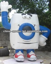 inflatable cartoon custom inflatable box/custom inflatable model