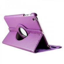 iPad Mini 360 Degree Purple Case with Stand
