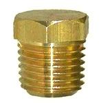 EC Brass Hex Head Plug