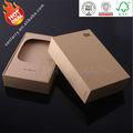 2014 caliente venta de reciclaje de papel de cartón caja de regalo caja de embalaje caja con