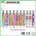 De alta calidad increíble de vapor cigarrillo electrónico ego-q, el más reciente clearomizer vivi nova ego-q kit