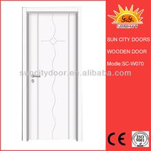Solid wood door weight sauna room