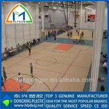 6.0mm pvc maple wood basketball flooring