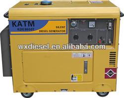 6.5kva,silent type,single phase diesel generator