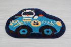 Children cartoon car Microfiber floor mat
