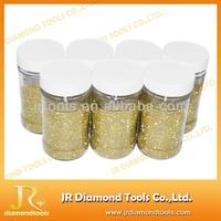 Polishing industrial synthetic diamond dust
