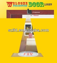 laser logo led door ghost shadow projector lights,custom ghost shadow door light led, welcom door light for hotel