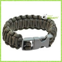 Fashion paracord jewelry Iraqi Freedom Cobra Paracord Survival Bracelet