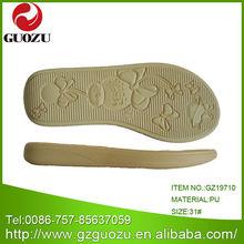cream pu fashion flat sandals children sole