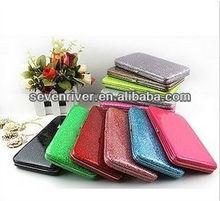 Fashion Customized PU Hinge Purse/Women Metal Frame Wallets/Lady Clutch Bag