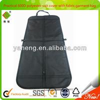 Practical & foldable 600D polyester suit cover,garment bag,wholesale