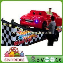 revolving amusement equipment speaker mini car
