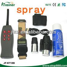 Remote control dog training spray collar/puppy training/ anti-bark training collar