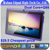 $29.5 cheapest Q88 7 inch android tablet a23