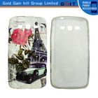Colorful UV Printing TPU with diamond Cover Case for Grand 2 G7100,G7102,G7106