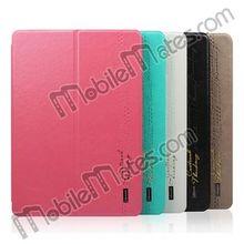 Original USAMS Slim Flip Leather Case for iPad Air with Stand Holder, for ipad air leather case
