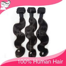 Hot Beautiful Top Grade 6a Cheap Black Color 100% Chinese Human Hair Weaving