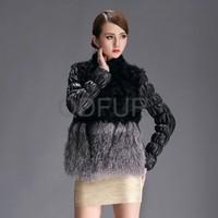 QD28333 sheep skin/fur wool goat raw lamb skin/Fur Coat