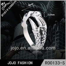 2014 factory wholesale hot sale fashion 925 silver mens rings