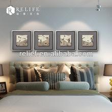 hang modern wall resin paintig enamel picture frames
