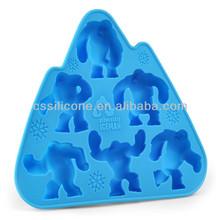 2014 eco-friendly safe animal shape silicone cake mold for baking,silicone cake pop mold,silicone ice tray