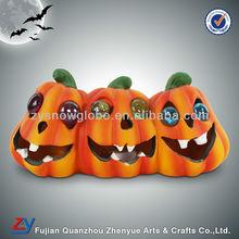 Ceramic halloween pumpkin light decorations