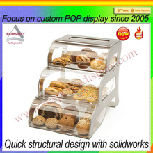 acrylic cake pops display stand for cake dome display stand