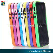 2014 new product protective two piece bumper cover for iphone 5 5S