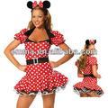 Mickey mouse costumi minnie costume da topo adulto cw-1685