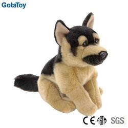 stuffed soft german shepherd dog
