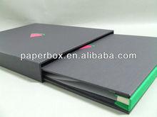 Pocket Folio file folder black matte case portfolio