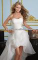 novo estilo traseira curta longa do vestido de casamento