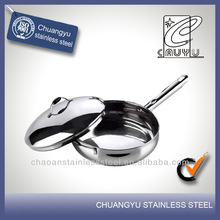 New product stainless steel microwave oven frying pan