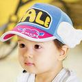 Moda bambino cappello estivo ali dei bambini maglia berretto da baseball cap tuta 2-8 anni angelo bambino cappelli colorati