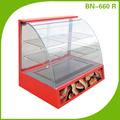 Luxo elétrico Food Warmer / aquecimento exibição showcase