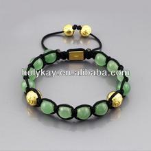 wholesale 2014 hot china products fashion jade beads string braided bracelet