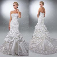2014 new designer mermaid crystal elie saab wedding dresses prices CXC1366