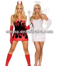 devil and angel halloween costume CW-1700