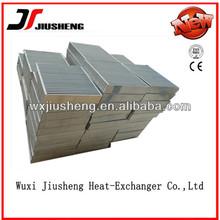 custom made vacuum brazed aluminum motorcycle intercooler exporter/ exporter in china