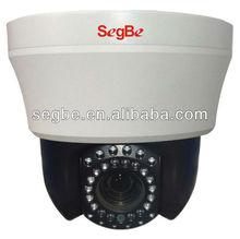 ONVIF 4'' Mini high Speed Dome 20m, 720P, live view axis 213 ptz network camera 1.3MP, IR Viewing IP IR PTZ Camera