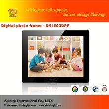 SH1502DPF 15 inch photo frame pendant
