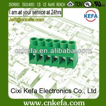 KF635-5.0/5.08mm 2 way pcb terminal block connector 300V/30A