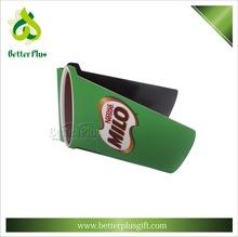 plastical folding custom magnetic bookmark