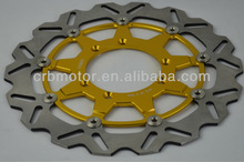 enduro supermotard motorcross dirt bike 320mm floating brake discs and solid brake discs for KAWASAKI/HONDA/YAMAHA/KTM/SUZUKI.