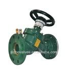 fixed orifice double regulating valve