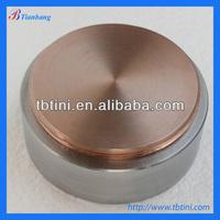 Baoji Tianbang Manufacturers Low Price ASTM B381 Raw Platinum Coated Titanium Target For Hot Sale