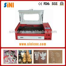 SIN-L530C top selling wooden box laser engraver machine price