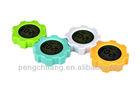 2014 new item,doulex Gearwheel Clock,funny alarm clock
